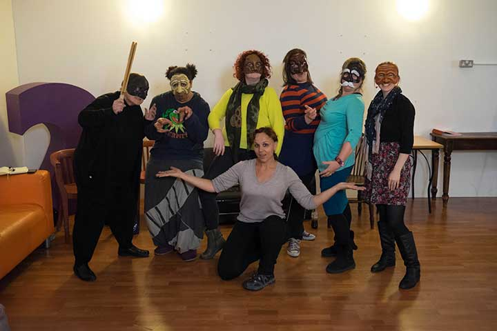 Personal development for drama teachers in London 2014