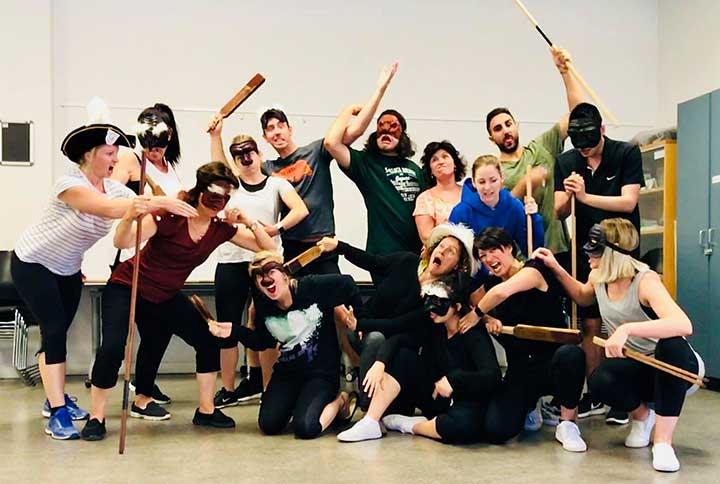 Personal development for drama teachers in Adelaide 2018