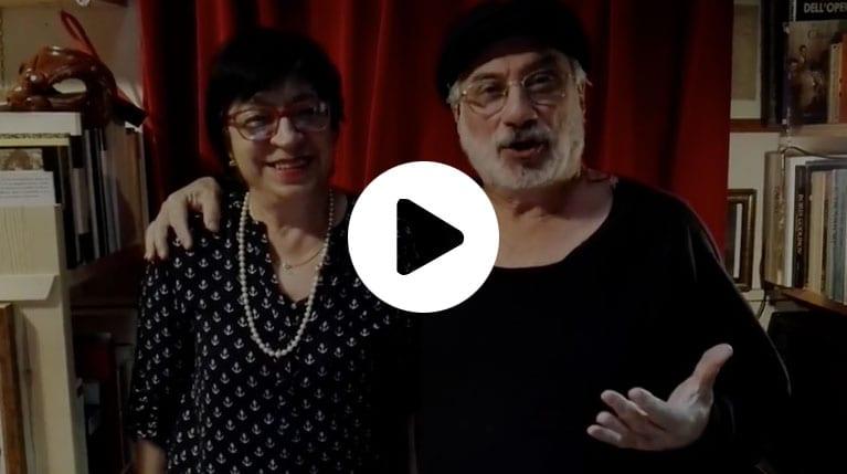 Antonio Fava and wife Dina wedding message to Corinna