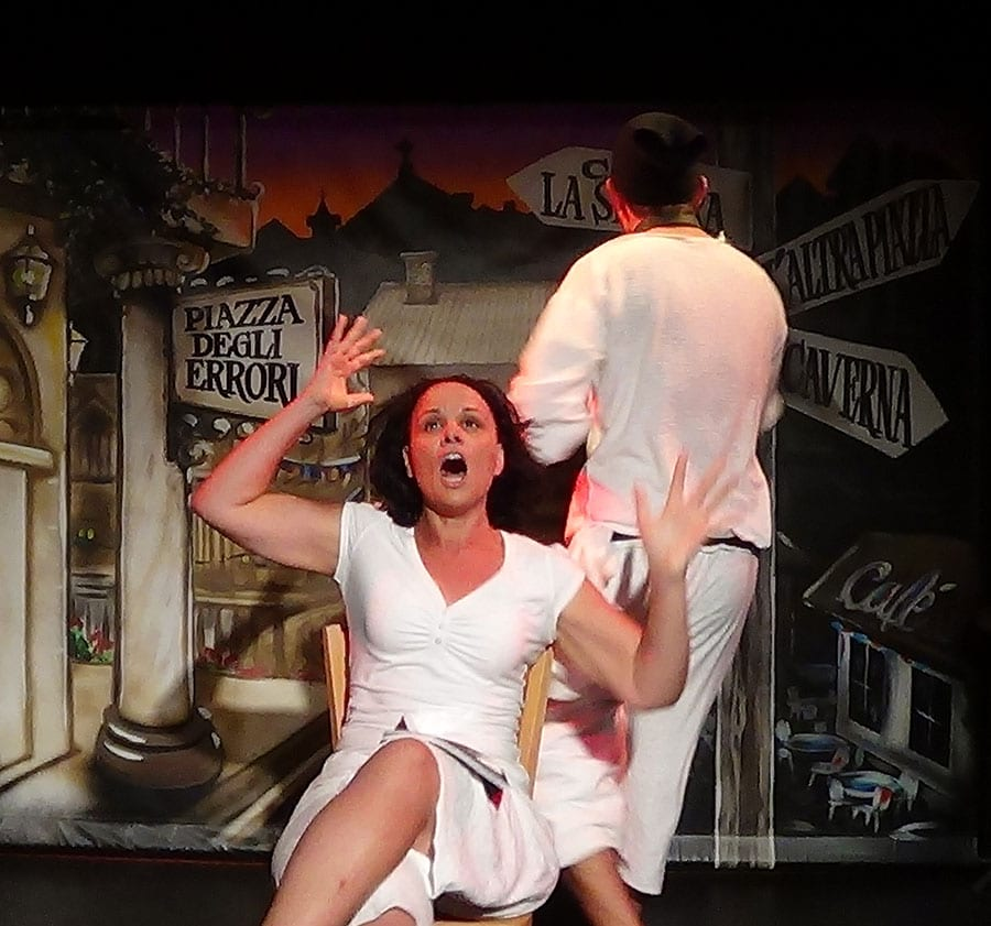 Commedia con Corinna. James Lainas, Re-Wed: The Marriage of Flavio & Isabella – 2012 Adelaide Fringe
