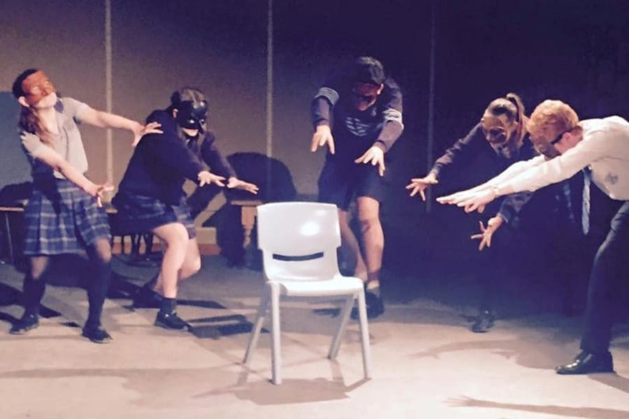 Primary school theatre workshops with Corinna Di Niro, Stage Secrets